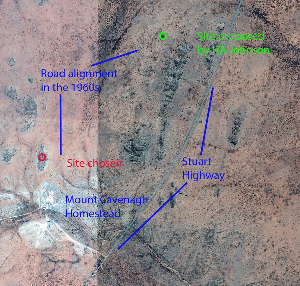 Johnson Origin / Geodetic Station